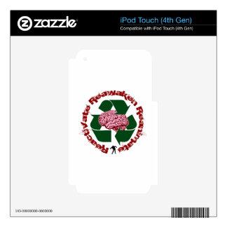 Reactivate Reawaken Reanimate iPod Touch 4G Skin