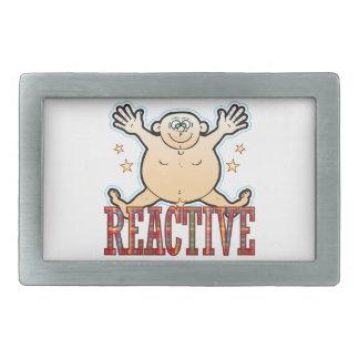 Reactive Fat Man Belt Buckle