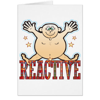 Reactive Fat Man Card