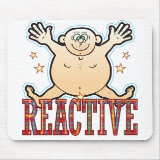 Reactive Fat Man Mouse Pad