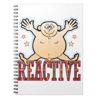Reactive Fat Man Notebook