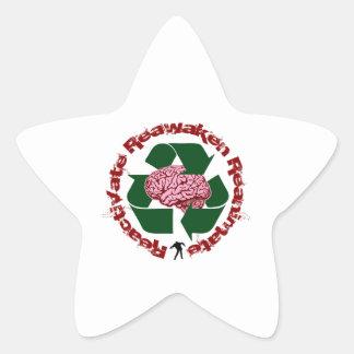 Reactive reaniman Reanimate Pegatina En Forma De Estrella