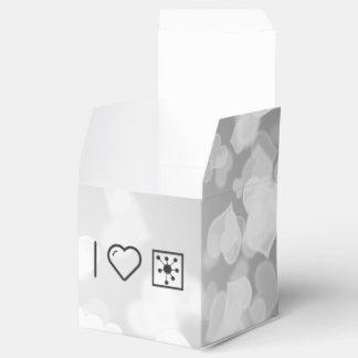 Reactores nucleares frescos cajas para regalos de boda