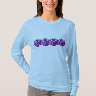 Read - 3D font T-Shirt