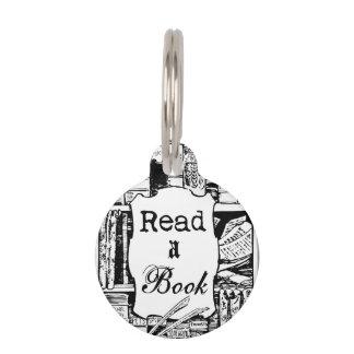 Read A Book Pet ID Tag
