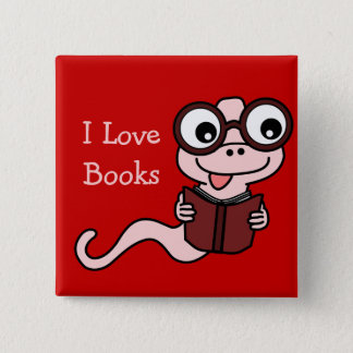 Read a Book Month: I Love Books Button