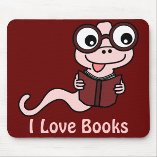 Read a Book Month: I Love Books Mouse Pad