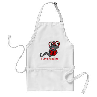 Read a Book Month: I Love Reading Adult Apron