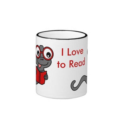 Read a Book Month: I Love Reading Coffee Mug