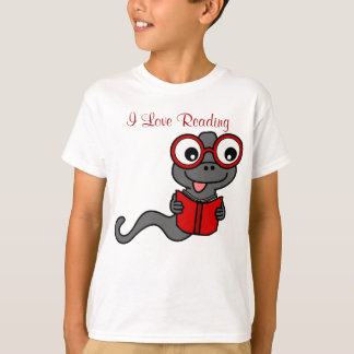 Read a Book Month: I Love Reading T-Shirt