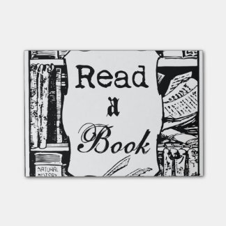 Read A Book Post-it® Notes