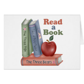 Read A Book Teacher Gift Card