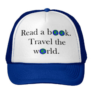 Read a book Travel the World Trucker Hat