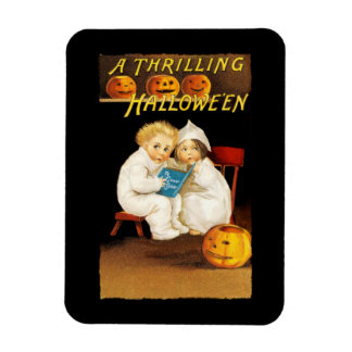 Read a Scary Story Rectangular Photo Magnet