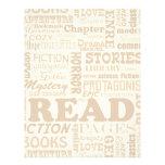Read all about it! letterhead