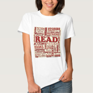Read all about it red! t shirt