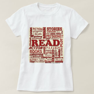 Read all about it red! tee shirt