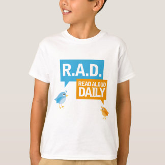 Read Aloud Daily Book Birdies Reading Gift T-Shirt