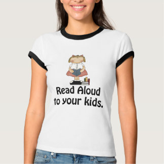 Read Aloud Literacy T-shirt
