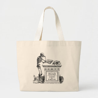 Read: Always and Forever Large Tote Bag
