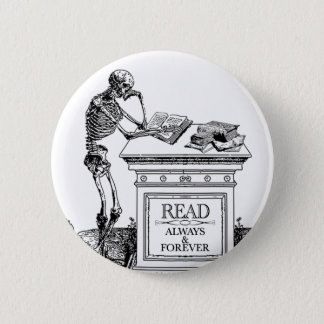 Read: Always and Forever Pinback Button