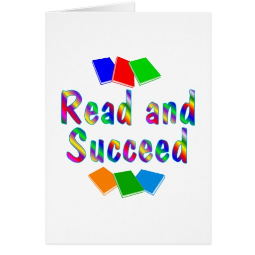 Read and Succeed Greeting Cards