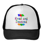 Read and Succeed Mesh Hat