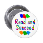Read and Succeed Pinback Buttons