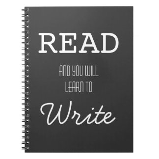 Read and You Will Learn to Write Notebook