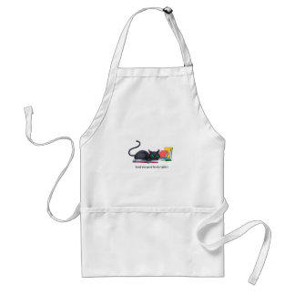 Read any good books lately? adult apron