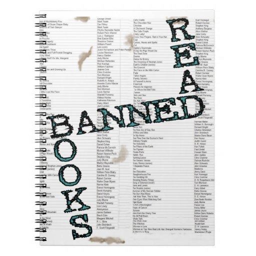 Read Banned Books Journal Blank Book Spiral Note Books
