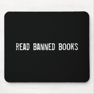 read banned books mouse pad
