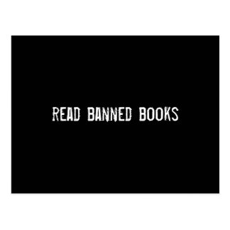 read banned books post cards