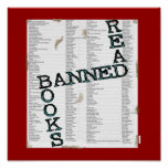 READ BANNED BOOKS POSTERS
