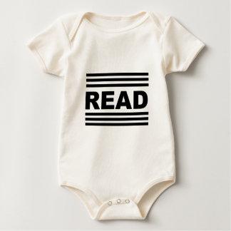 Read Between The Lines Baby Bodysuit