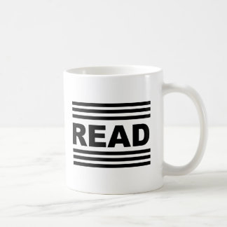 Read Between The Lines Coffee Mug