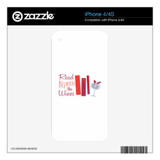 Read Between The Wines Skins For iPhone 4S