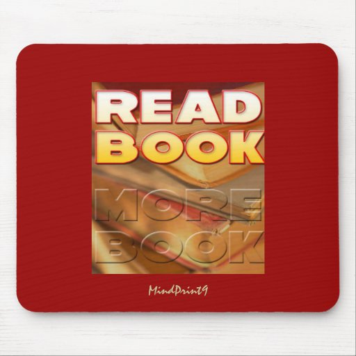 Read Book More Book Mouse Pad