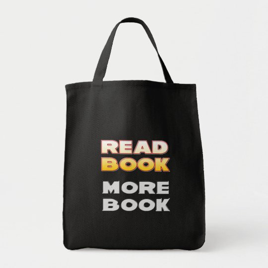 Read Book More Book Tote Bag