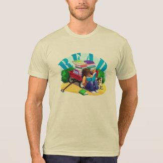 READ Book Wagon Art T-Shirt