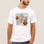 Read Books Apples & Pens Print T-Shirt