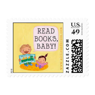 Read Books, Baby! stamp