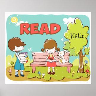 "Read Child 24"" x 20"", Value Poster Paper (Matte)"