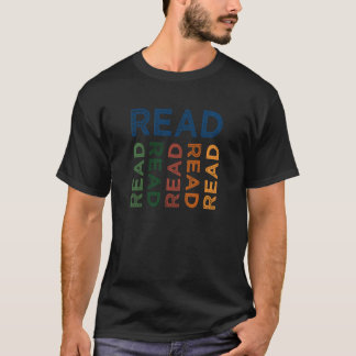 Read Cute Colorful T-Shirt