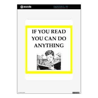 READ DECALS FOR iPad