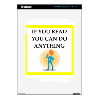 READ DECALS FOR iPad 3