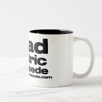 Read. Drink. Repeat. Two-Tone Coffee Mug