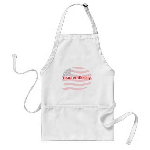 Read Endlessly Adult Apron