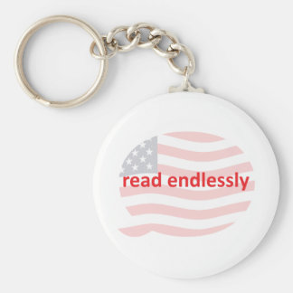 Read Endlessly Keychain