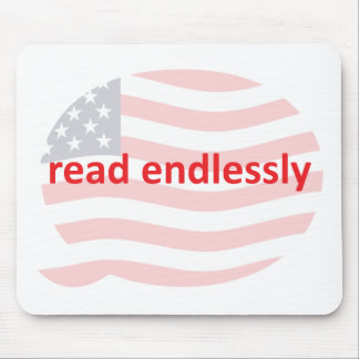Read Endlessly Mouse Pad
